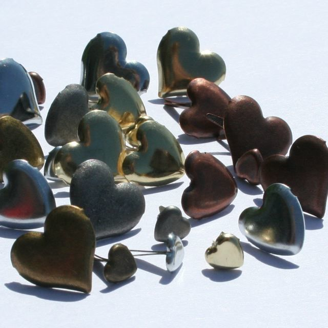 Anodised Heart Mix