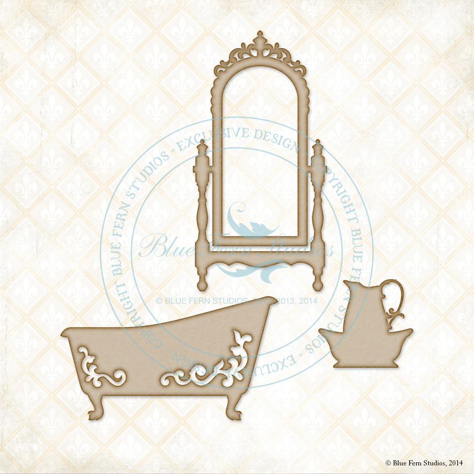Victorian Bath Set