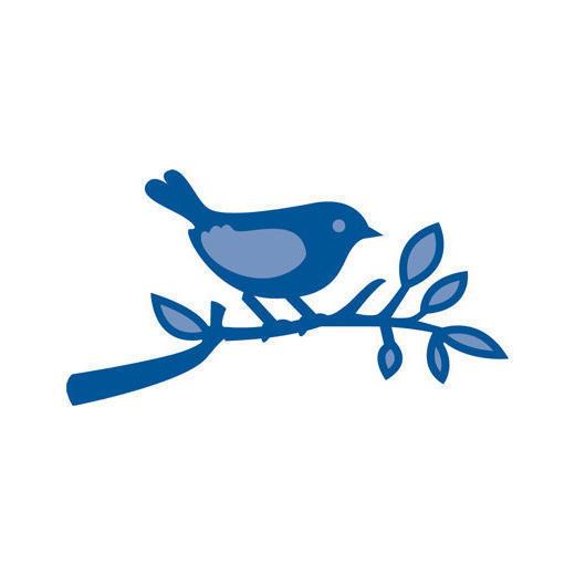 Creatables - Small Bird on Branch