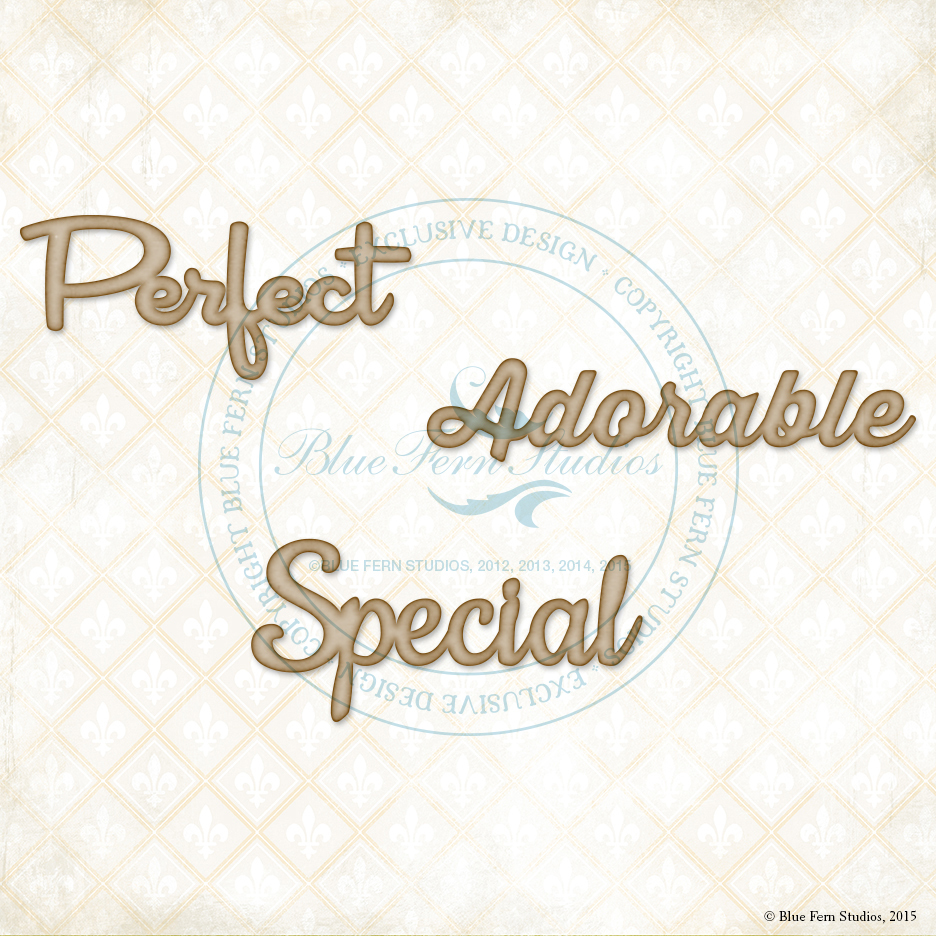 Perfect Adorable Special