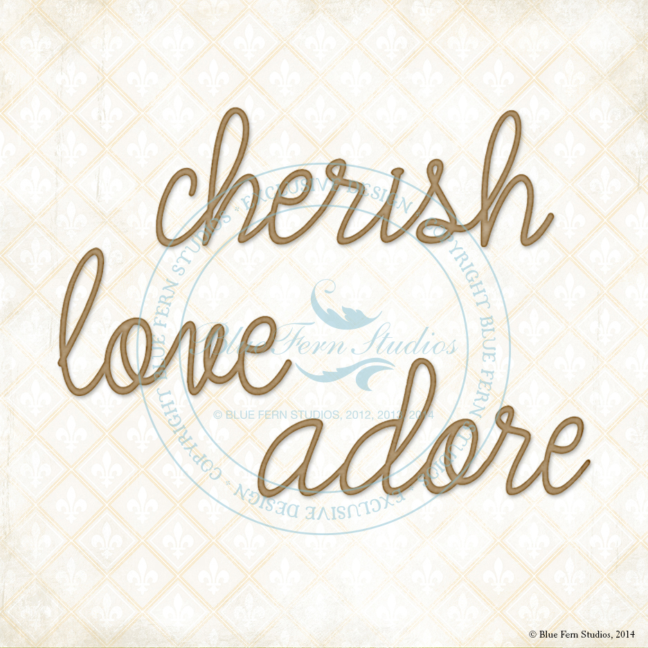 Adore Love Cherish
