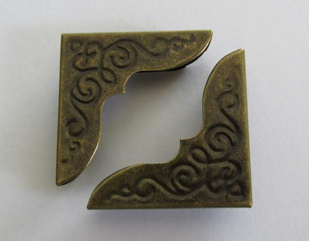 Bronze Corner Protectors x 4