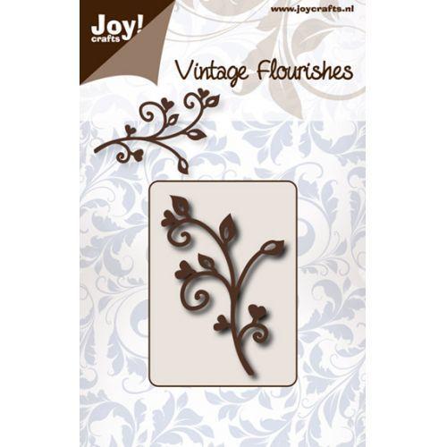 Vintage Flourishes - Swirls /Twigs die
