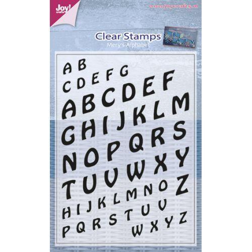 Mery's Alphabet stamp set