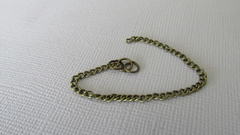Bronze Tone Link-Opened Curb Chain 3x2.2mm