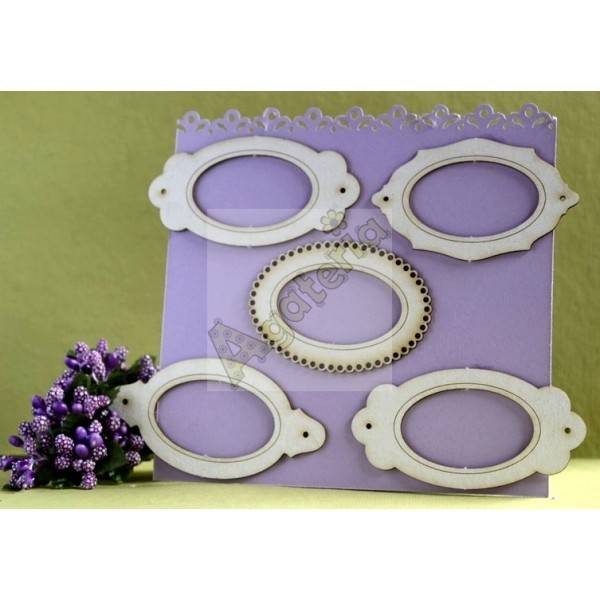 Oval Frame Set