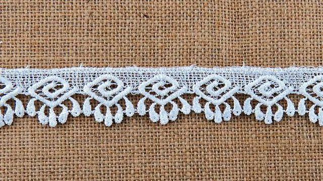 White Design Lace