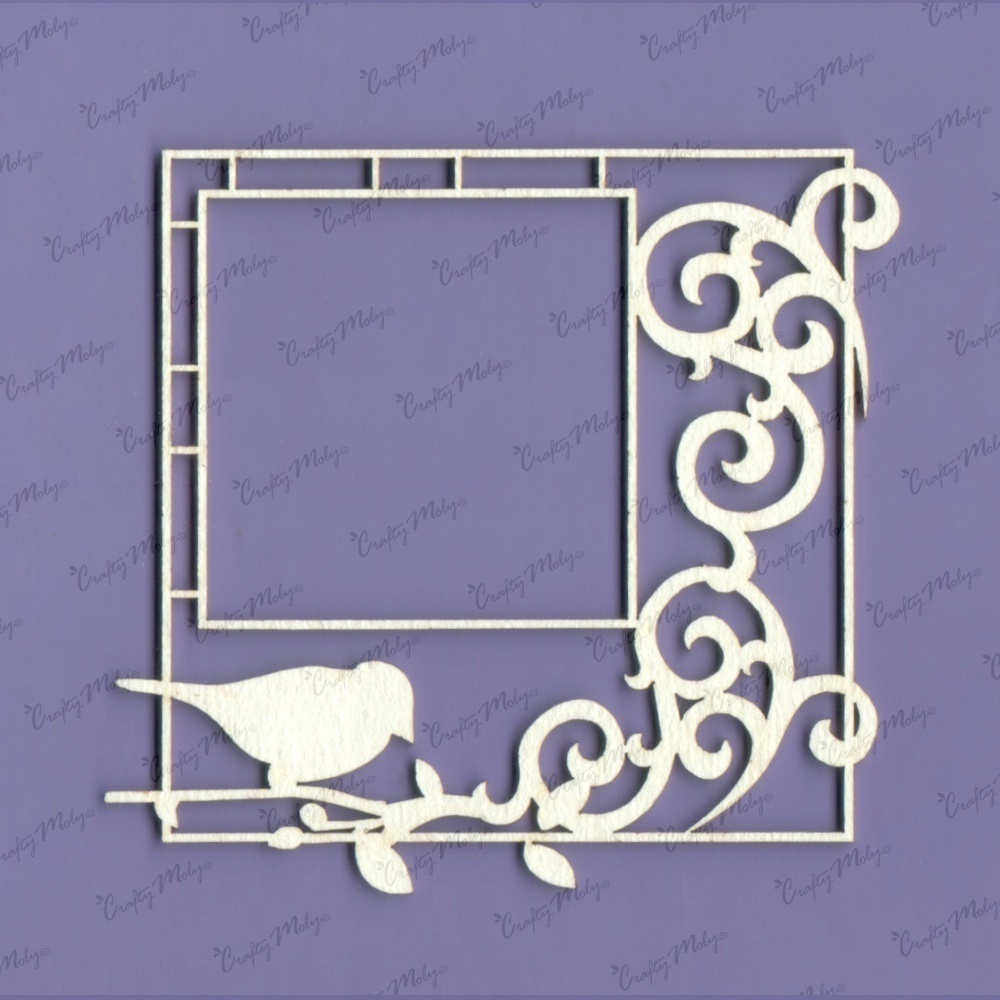 Frame with Bird