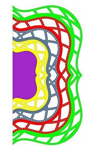 Reflections - Kaleidoscope Lace Mega Doily