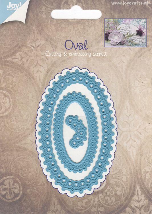 Oval Elegant die set