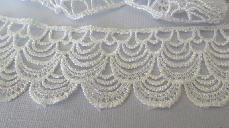White Double Arch Lace