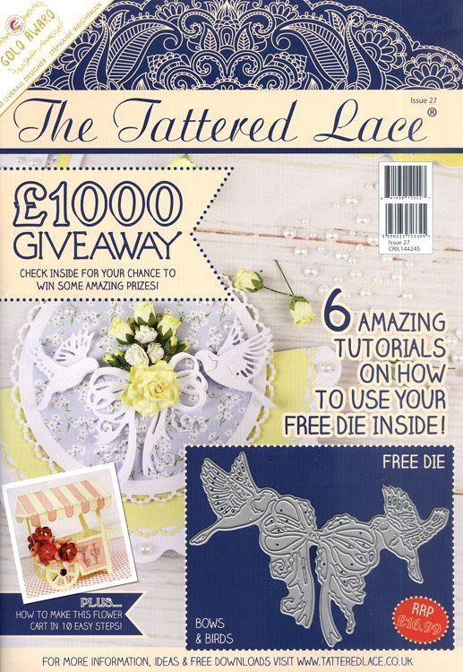 Tattered Lace Issue 27
