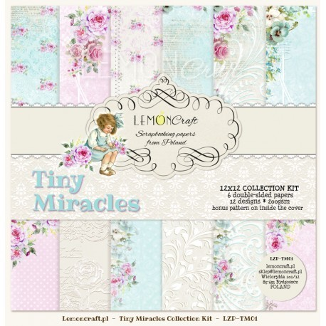 Tiny Miracles 12x12 Paper Collection