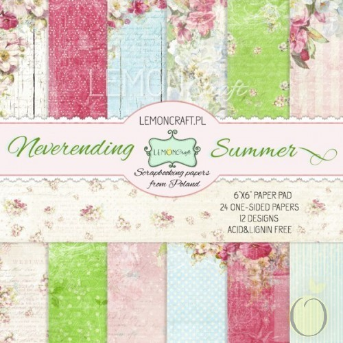 Neverending Summer 6x6 Paper Set