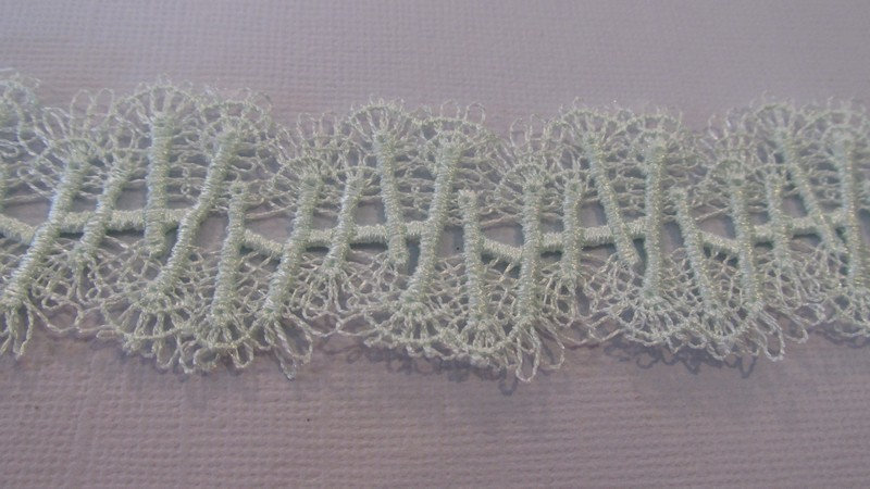 Apple Green Lace