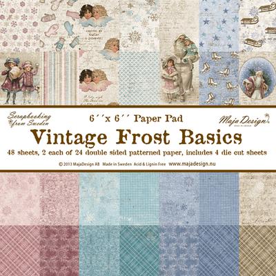 Vintage Frost Basics 6x6 Paper Stack