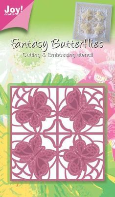 Fantasy Butterfly Square die