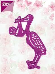 Stork With Baby die