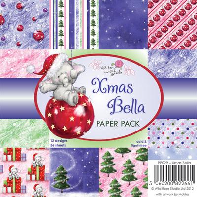 Xmas Bella 6 x 6 Paper Pack