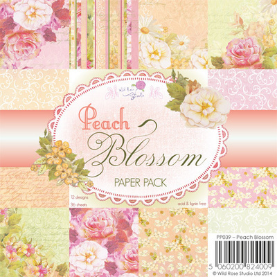 Peach Blossom 6 x 6 Paper Pack
