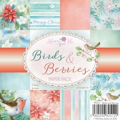 Birds & Berries 6 x 6 Paper Pack