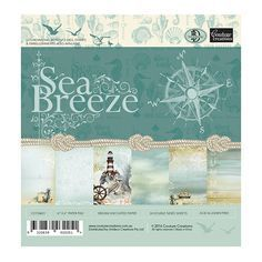 Sea Breeze 6x6 paper pad