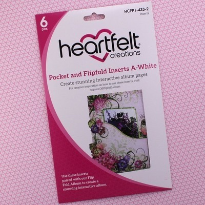 Pocket & Flipfold Inserts A - White