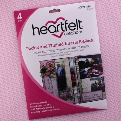 Pocket & Flipfold Inserts B - Black