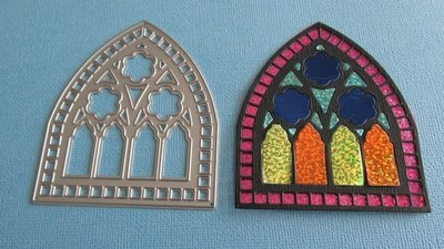 Stained Glass Window die