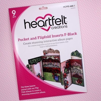 Pocket & Flipfold Inserts F - Black