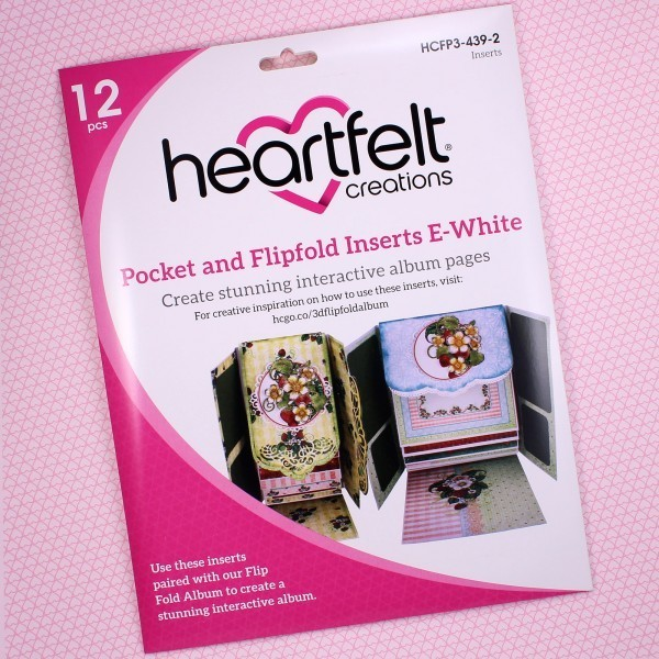 Pocket & Flipfold Inserts E - White