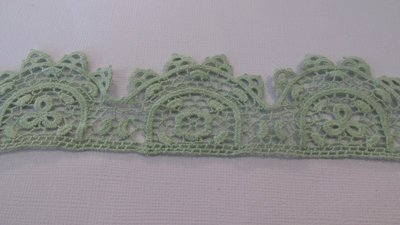 Green Cotton Lace - 55mm