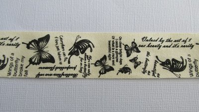 Cotton Butterfly tape