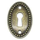 Oval Antique Keyholes