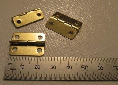 Brass Hinges x 2