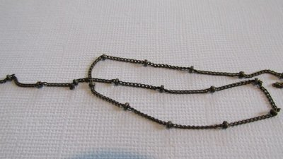 Antique Bronze Bead Chain 4mm