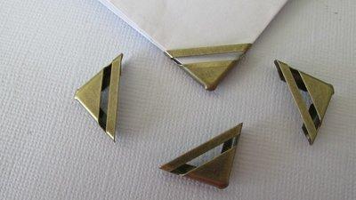 Bronze Corner Protectors - x 4 small
