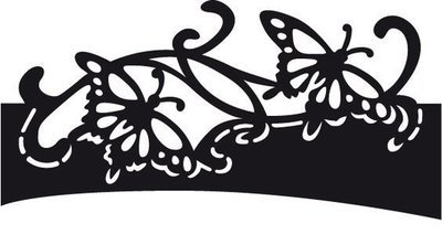 Folding die - Butterfly