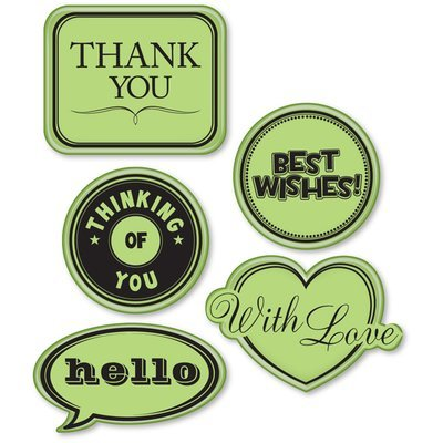 Inkadinkado Cling Stamps - Everyday Expressions