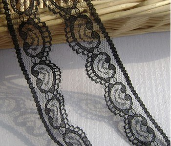 Black Soft Yarn Lace