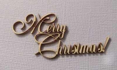 Merry Christmas 2 - Large