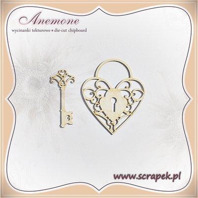Heart Padlock & Key