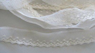 Cream Netting Lace