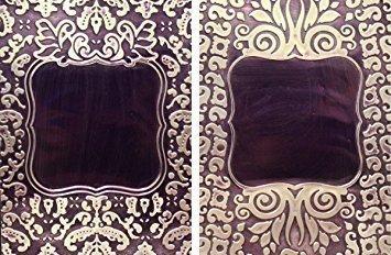 Framed Labels One - M-Bossabilities Reversible Embossing Folder