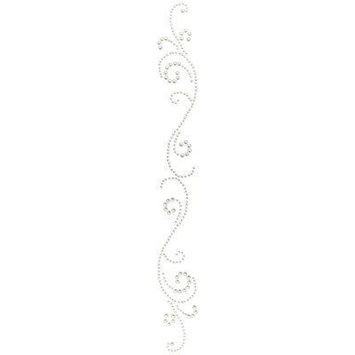 Want to Scrap Swirls Finesse - White Pearls