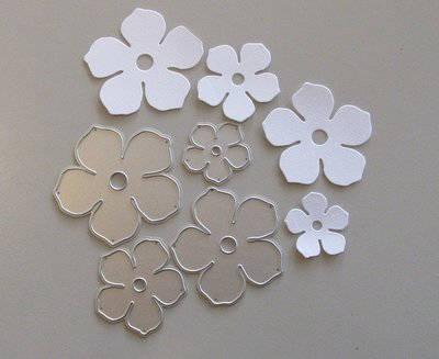 Flower die set