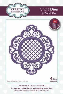 Creative Expressions Frames & Tags - Maggie