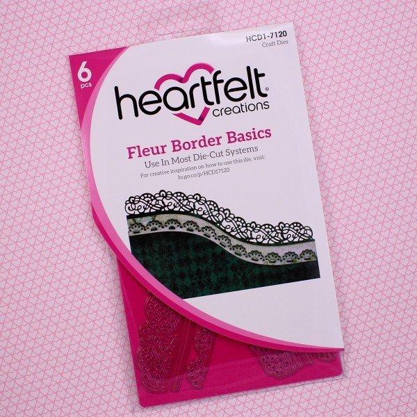 Fleur Border Basics die set