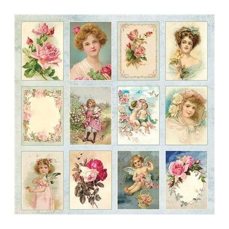 Craft & You 12x12 Vintage Sheets - Click to Select