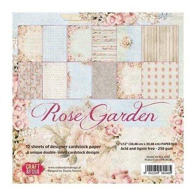 Rose Garden 6x6 paper pack